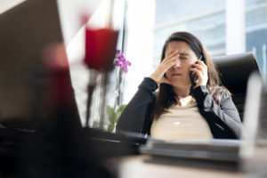 Anxious Employee